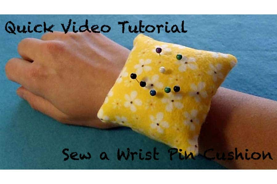 Sew a Wrist Pin Cushion