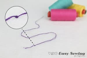 Completed knot with thread background-01-01