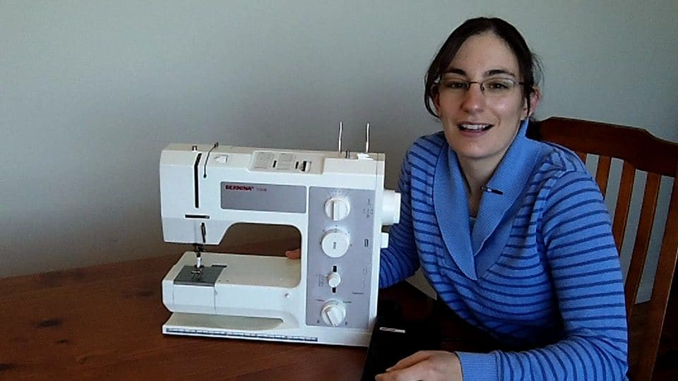 Introduction to a mechanical sewing machine