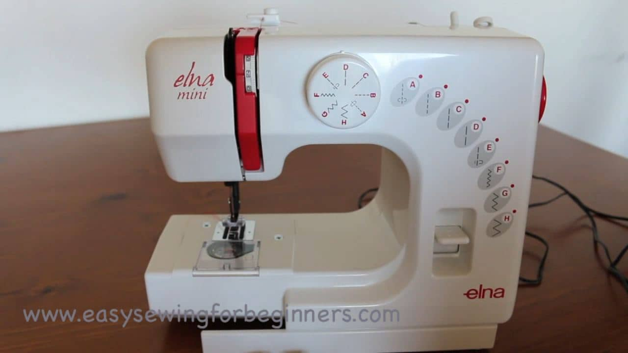 easy sewing machine for beginners