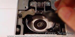 remove bobbin case