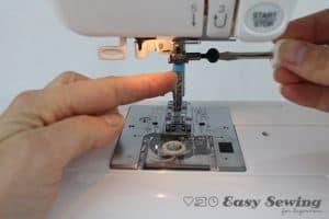 add twin needle to sewing machine