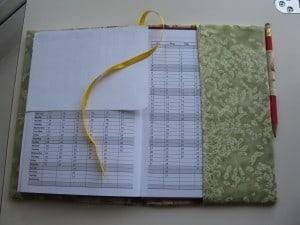 notebook flap
