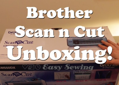 Brother Scan n Cut Unboxing CM550DX