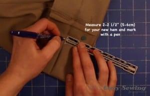 measure new hem