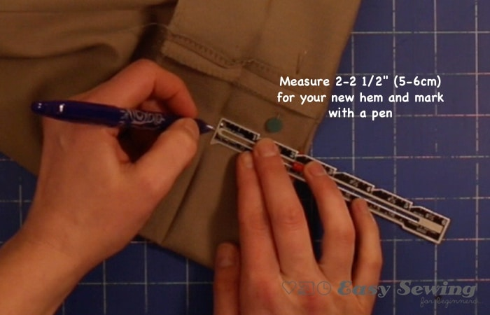 measure new hem