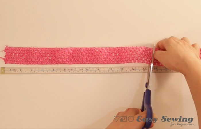 2 cut waistband to length