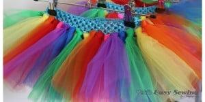 rainbow tutus