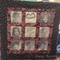 print on fabric quilt