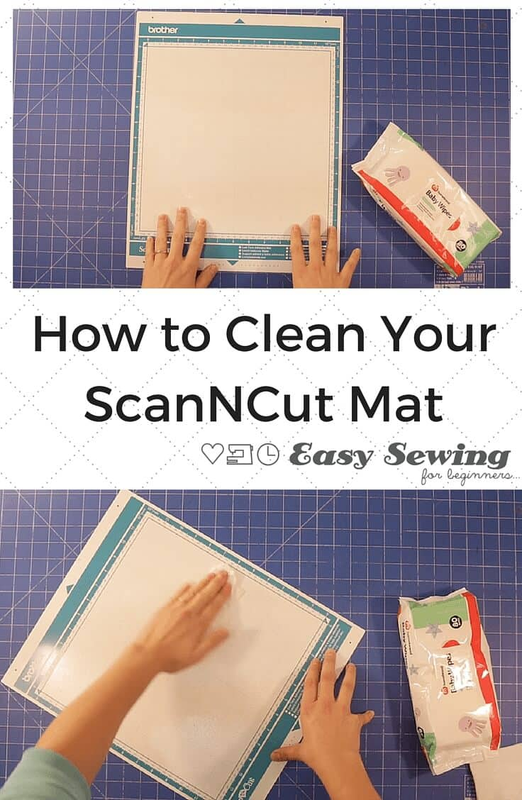 How to Clean Your ScanNCut Mat