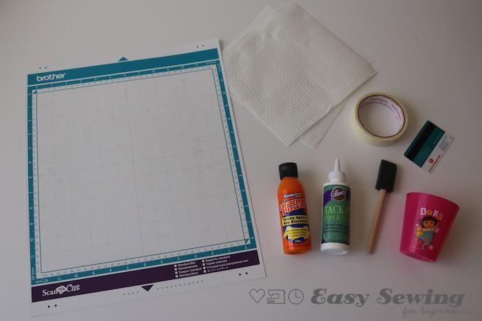 retack scanncut mat what you'll need