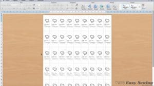 01 Create Labels in a Document