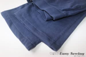 how to hem pants using a sewing machine straight stitch finish pants