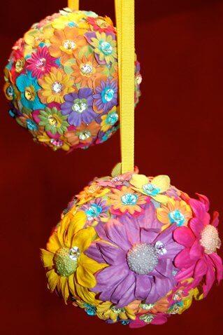 Decorative Floral Pomander