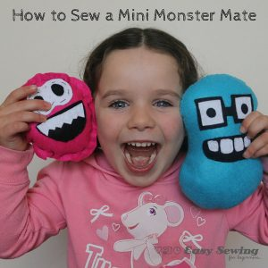 Mini monster mate tutorial with free template
