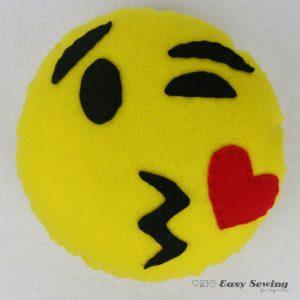 Blow a kiss emoji