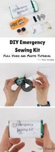 DIY Emergency Sewing Kit