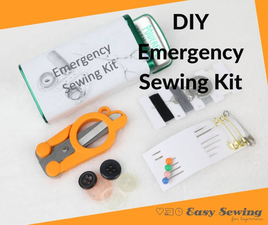 DIY Emergency Sewing Kit