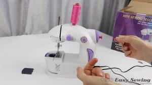 02-wind-the-bobbin how to use mini sewing machine