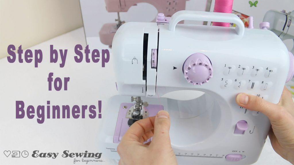 How to Operate a Portabl Mini Sewing Machine FHSM 505 Nex Sewing Machine