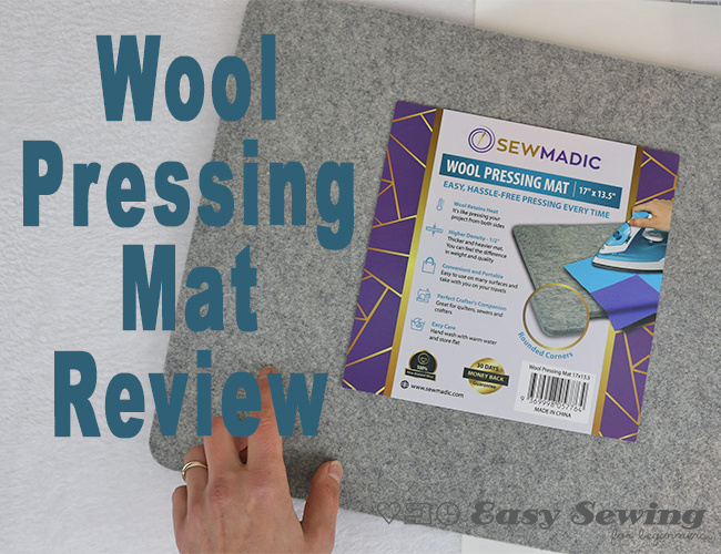 How to Use a Wool Pressing Mat Review